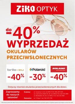 Oferty Perfumy i kosmetyki na ulotce Ziko Apteka ( Ważny 11 dni)
