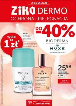 Oferty Perfumy i kosmetyki na ulotce Ziko Apteka ( Wygasa jutro)
