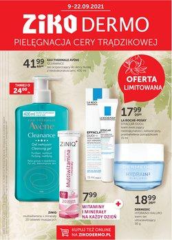 Oferty Perfumy i kosmetyki na ulotce Ziko Apteka ( Ważny 2 dni)