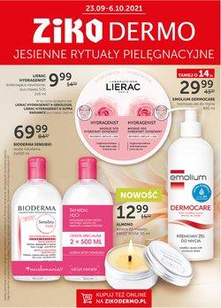 Oferty Perfumy i kosmetyki na ulotce Ziko Apteka ( Wydany dzisiaj)