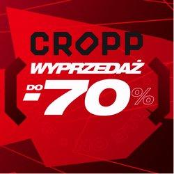 Oferty Cropp na ulotce Cropp ( Ważny 23 dni)