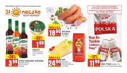 Oferty Supermarkety na ulotce Słoneczko ( Wydany wczoraj)