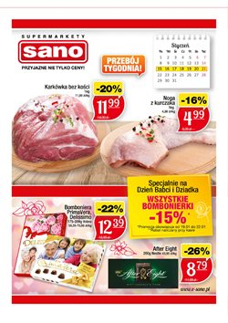 Oferty Sano na ulotce Koszalin