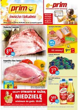 Oferty Prim Market na ulotce Prim Market ( Ważny 2 dni)