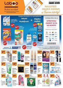 Oferty Perfumy i kosmetyki na ulotce Drogerie Laboo ( Ważny 3 dni)