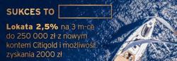 Oferty Citibank na ulotce Warszawa