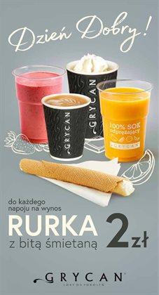 Oferty Restauracje i kawiarnie w Grycan w Chorzów ( Ponad miesiąc )