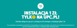 Oferty UPC na ulotce Warszawa