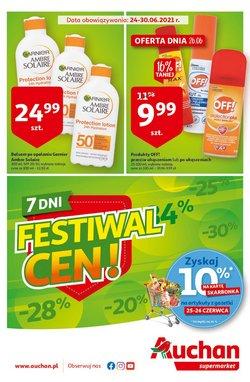 Oferty Auchan na ulotce Auchan ( Wydany dzisiaj)