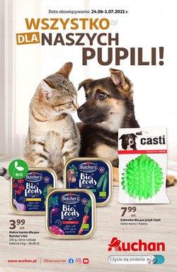 Oferty Supermarkety na ulotce Auchan ( Ważny 6 dni)
