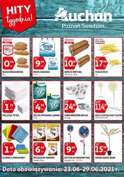 Oferty Auchan na ulotce Auchan ( Ważny 4 dni)