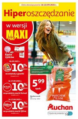 Oferty Supermarkety na ulotce Auchan ( Ważny 2 dni)