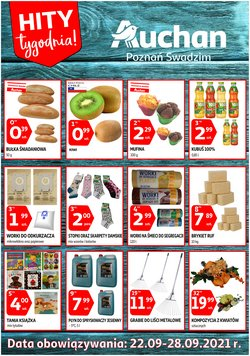 Oferty Supermarkety na ulotce Auchan ( Wygasa jutro)