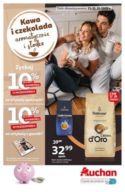 Oferty Supermarkety na ulotce Auchan ( Ważny 3 dni)