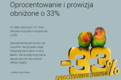 Oferty Alior Bank na ulotce Racibórz