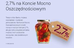 Oferty Alior Bank na ulotce Bielawa