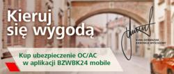 Oferty Bank Zachodni WBK na ulotce Ostróda