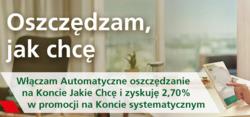 Oferty Bank Zachodni WBK na ulotce Iława