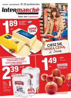 Oferty Supermarkety na ulotce Intermarche ( Wydany wczoraj)