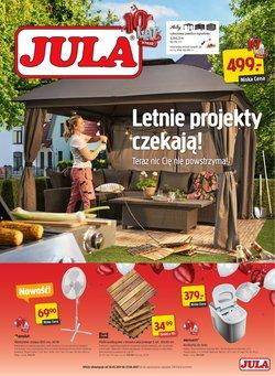 Oferty Budownictwo i ogród na ulotce Jula ( Ważny 5 dni)