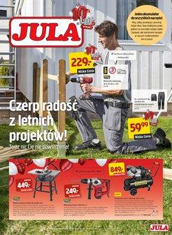 Oferty Budownictwo i ogród na ulotce Jula ( Ważny 4 dni)