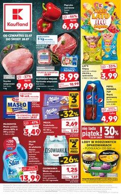 Oferty Supermarkety na ulotce Kaufland ( Wygasa dzisiaj)