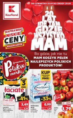 Oferty Supermarkety na ulotce Kaufland ( Wydany dzisiaj)