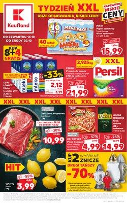 Oferty Supermarkety na ulotce Kaufland ( Ważny 3 dni)