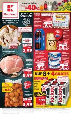 Oferty Kaufland na ulotce Kaufland ( Wydany wczoraj)
