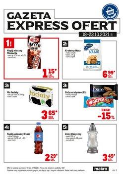 Oferty Supermarkety na ulotce Makro ( Wydany wczoraj)