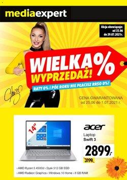 Oferty Elektronika i AGD na ulotce Media Expert ( Wygasa jutro)