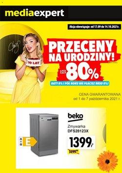 Oferty Elektronika i AGD na ulotce Media Expert ( Wydany wczoraj)