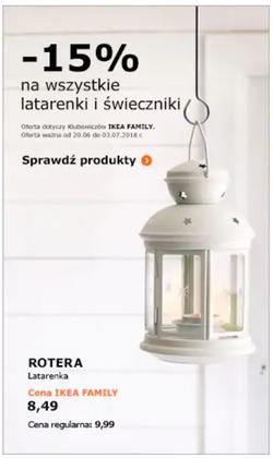 Oferty IKEA na ulotce Warszawa