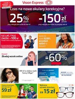 Oferty Perfumy i kosmetyki na ulotce Vision Express ( Ważny 3 dni)