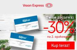 Oferty Vision Express na ulotce Ząbki