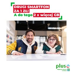 Oferty Elektronika i AGD na ulotce Plus GSM ( Ważny 9 dni)