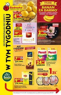 Oferty Supermarkety w Biedronka ( Ważny 3 dni )