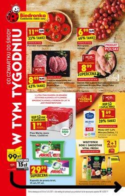 Oferty Supermarkety w Biedronka ( Ważny 2 dni )