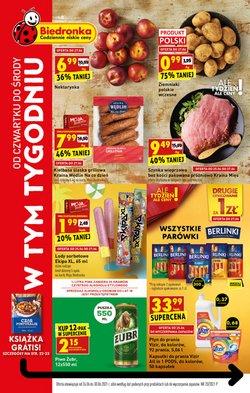 Oferty Supermarkety na ulotce Biedronka ( Wydany wczoraj)