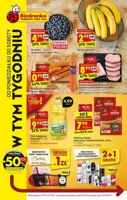 Oferty Supermarkety na ulotce Biedronka ( Wygasa dzisiaj)