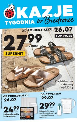 Oferty Supermarkety na ulotce Biedronka ( Ważny 15 dni)
