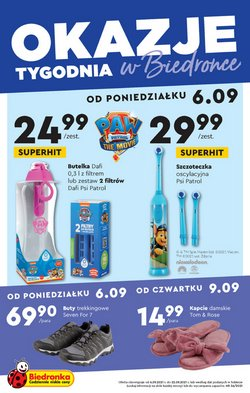 Oferty Supermarkety na ulotce Biedronka ( Ważny 2 dni)