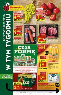 Oferty Supermarkety na ulotce Biedronka ( Wydany dzisiaj)