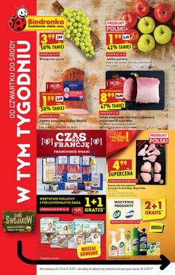 Oferty Supermarkety na ulotce Biedronka ( Ważny 3 dni)