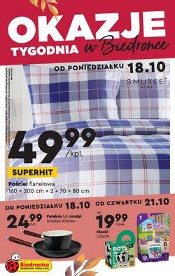 Oferty Supermarkety na ulotce Biedronka ( Ważny 16 dni)