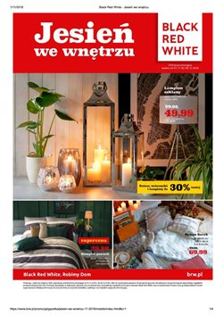 Oferty Black Red White na ulotce Nowy Targ