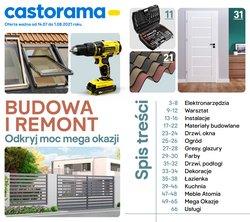 Oferty Budownictwo i ogród na ulotce Castorama ( Ważny 4 dni)