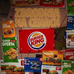 Oferty Restauracje i kawiarnie w Burger King ( Ważny 25 dni )