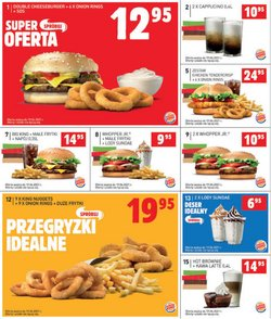 Oferty Restauracje i kawiarnie na ulotce Burger King ( Ważny 4 dni)