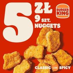 Oferty Restauracje i kawiarnie na ulotce Burger King ( Ważny 27 dni)